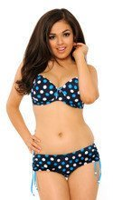 Curvy Kate Swimwear Pebble Blue Dot Biustonosz